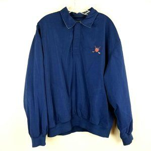 Ralph Lauren POLO GOLF 1/4 Snap Pullover Jacket Na